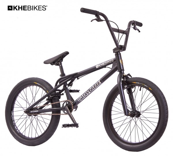 KHE CATWEAZLE 20 Zoll BMX Rad 10,8kg schwarz