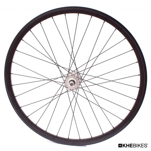 "KHE Fixie wheel front 700c, 28"" - sealed bearing silver"