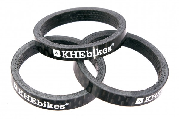 .KHEbikes Carbon Spacer 3 Stück - P2 79