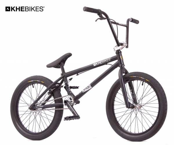 KHE SILENCER LT 20 Zoll BMX Rad mit Rotor 9,9kg! schwarz