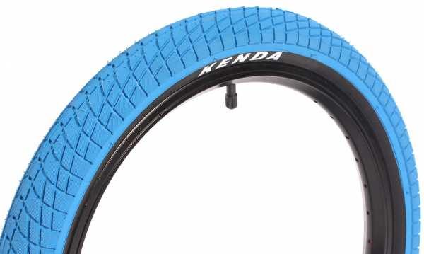 "KENDA 18""x2,25"" tire blue"