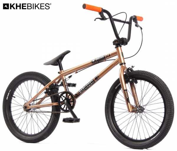 KHE BARCODE FS 20 Zoll BMX Rad Copper nur 11,3kg!