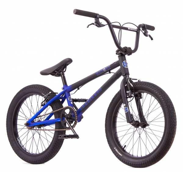 KHE MAD MAX 20 Zoll BMX Rad 11,2kg! schwarz-blau - verfügbar ab ca. 20.05.