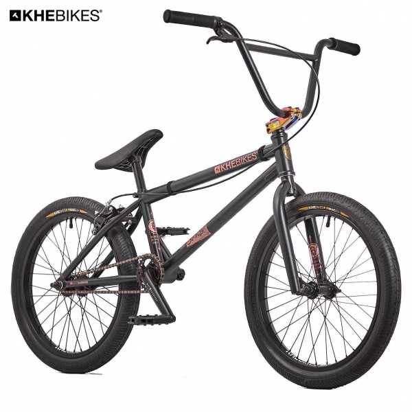 KHE Silencer BL BMX Rad 20 Zoll schwarz Frontansicht