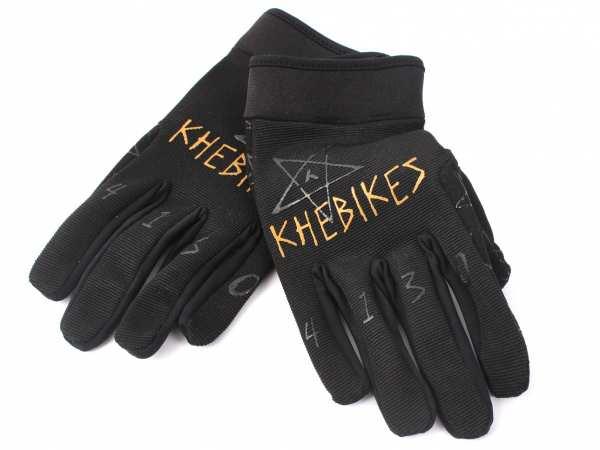 "KHE 4130 BMX Gloves ""XS"""