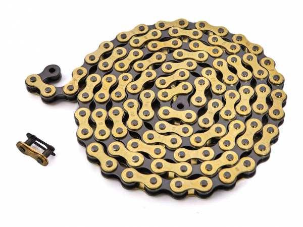 """KHEbikes chain 1/2"""" x 1/8"""" gold - I4"""