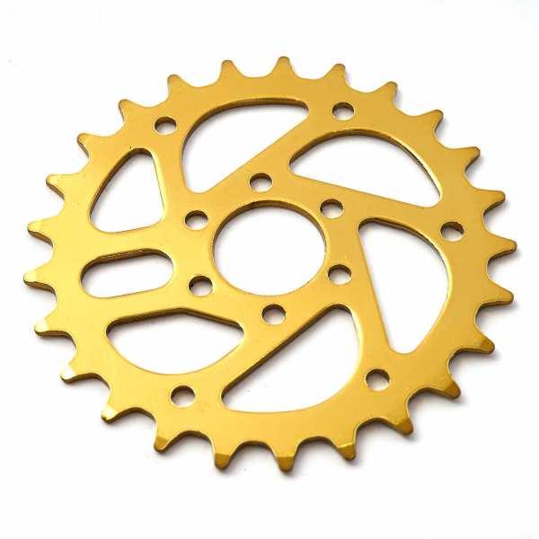 KHE MVP chain wheel 25t gold