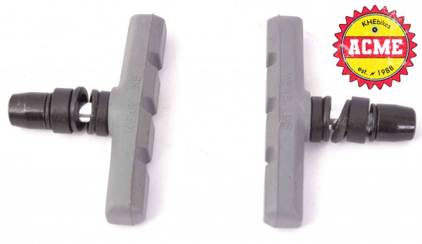 KHE ACME BMX brake pads grey T 28