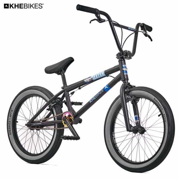 KHE Beater BMX Rad schwarz vorne