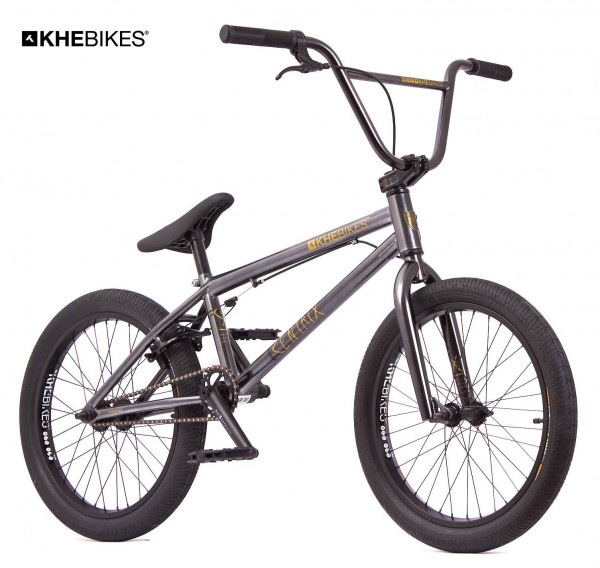 "KHE CENTRIX 20"" BMX Bike just 10,5kg! black-chrome"