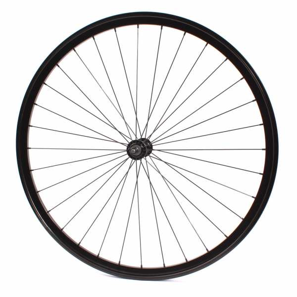 """KHE Fixie wheel front 700c, 28"""" - sealed bearing silver"""