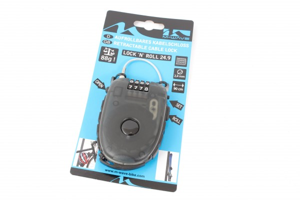 M-WAVE cable lock