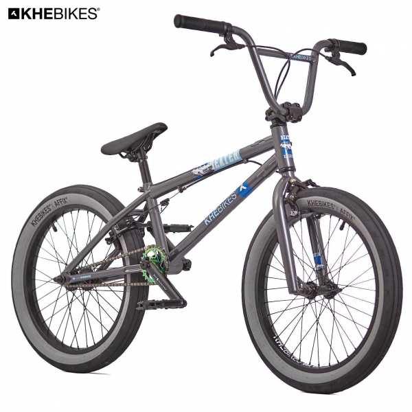 KHE Beater BMX 20 Zoll matt grau vorne