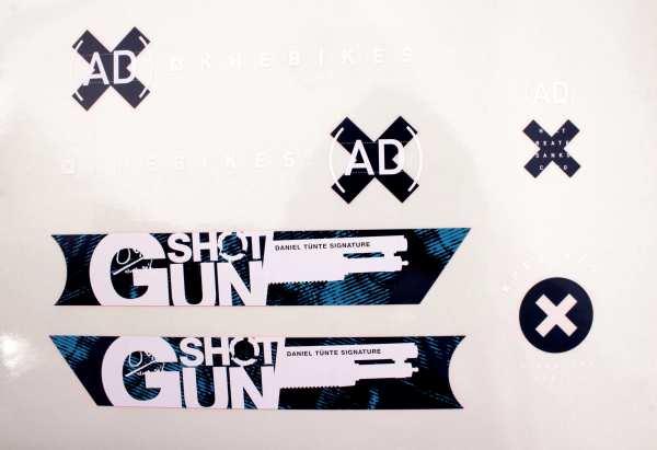 """KHE Aufkleber """"Shotgun"""" - S15"""