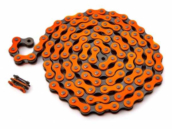 """KHEbikes Kette 1/2"""" x 1/8"""" orange - I4"""