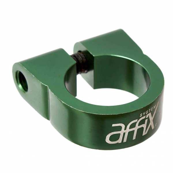Stemclamp AFFIX green - P1 114
