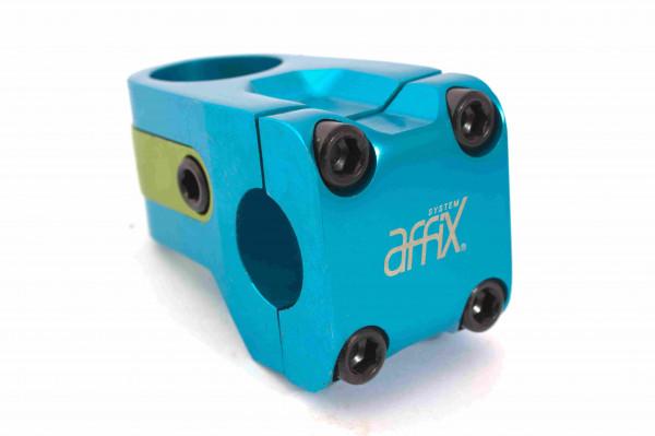 AFFIX Vorbau blau eloxiert - w101