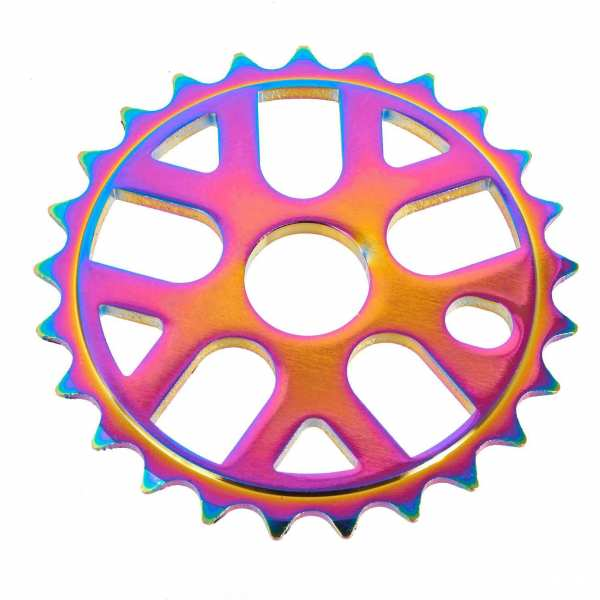 KHEbikes roue de chaîne alu 25T oil slick