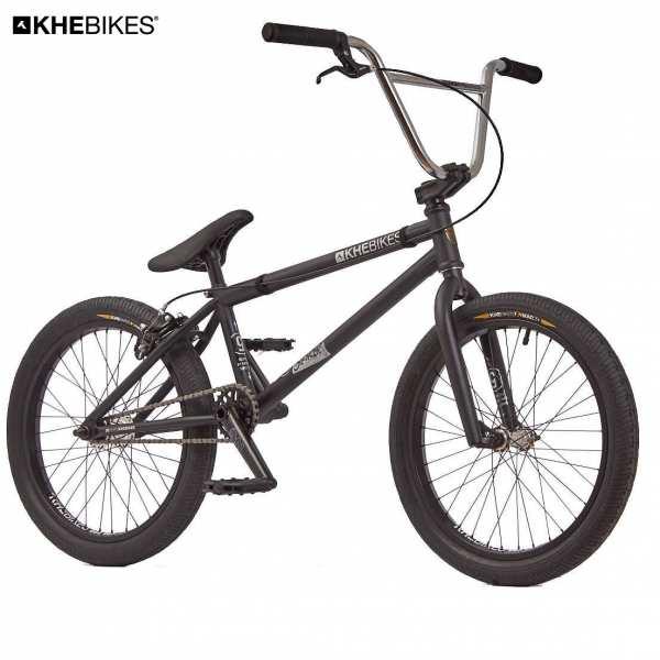 KHE Centrix 20 Zoll BMX Rad schwarz Vorderansicht