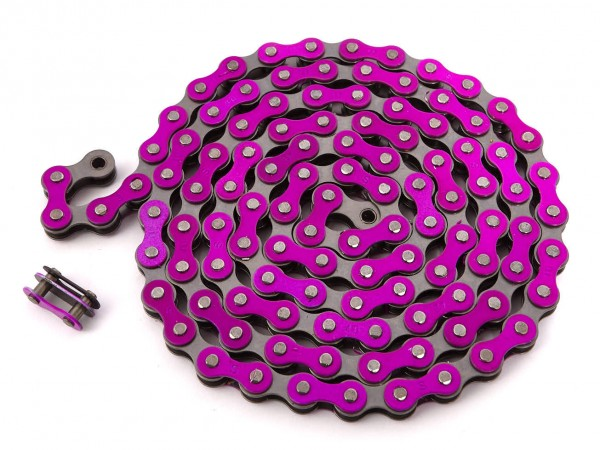 "KHEbikes chain 1/2"" x 1/8"" purple - I4"