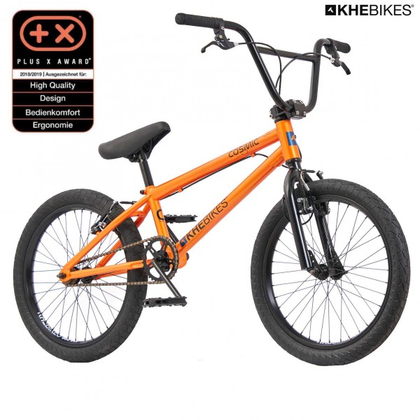 KHE COSMIC 20 Zoll BMX Rad nur 11,1kg! orange