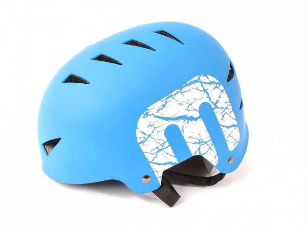 "BMX Freestyle Helmet ""Raven"" Hardshell - E12"