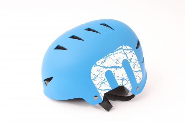 """BMX Freestyle Helm """"SKY"""" Hardshell - E12"""