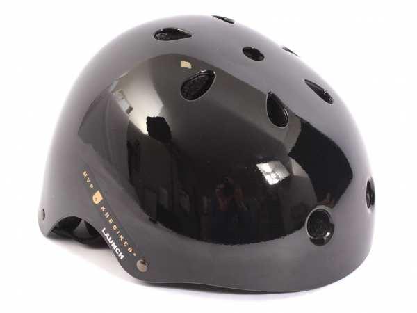 KHE MVP LAUNCH BMX Freestyle Helm schwarz M