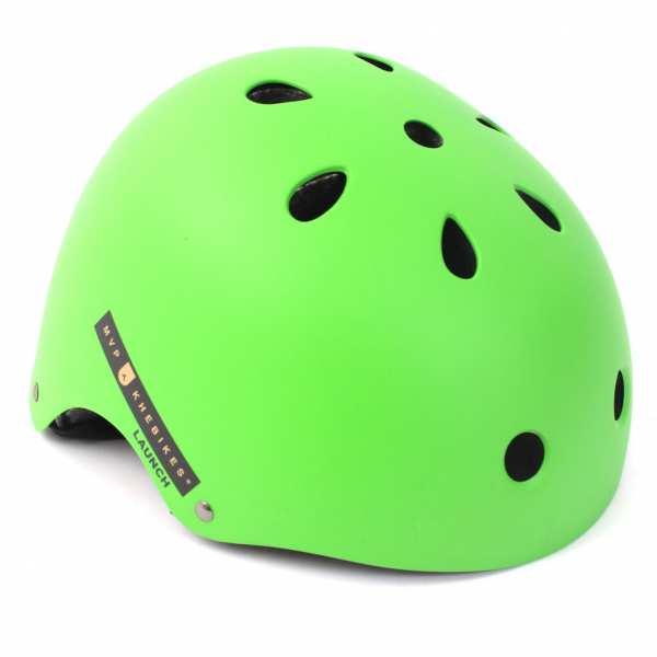 KHE MVP LAUNCH BMX Freestyle Helm grün M