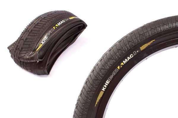 """KHE MAC2+ 20 Zoll x 2,3"""" Zoll Street Park BMX folding tire - E6"""