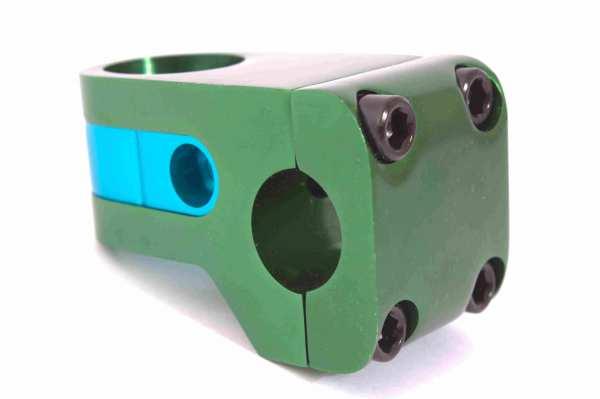 B-Ware Vorbau AFFIX grün eloxiert - S11