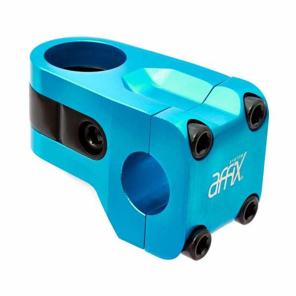 AFFIX Vorbau blau/schwarz eloxiert - P2 78