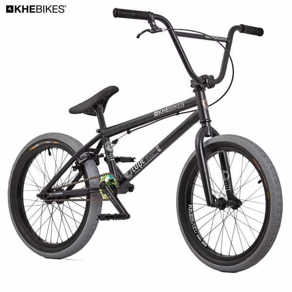 KHE Cope 20 Zoll BMX schwarz Vorderansicht