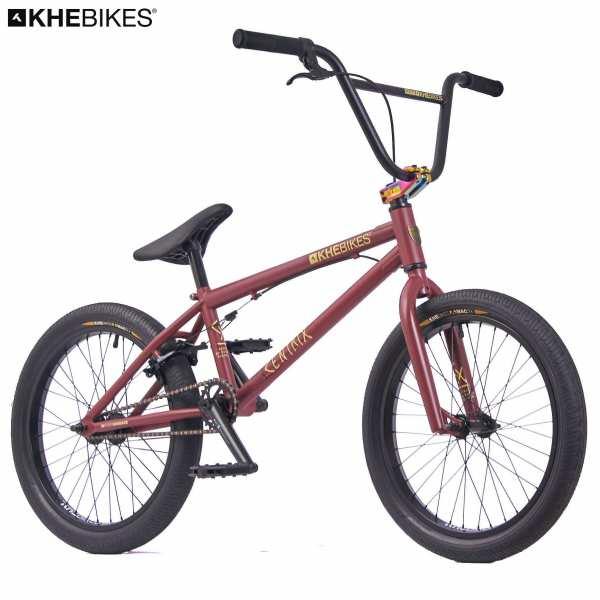 KHE CENTRIX 20 Zoll BMX Rad 10,5kg! rot-braun