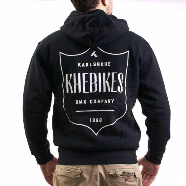 KHE Zip-Hoodie black XL