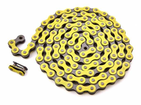 "KHEbikes chain 1/2"" x 1/8"" yellow - I4"