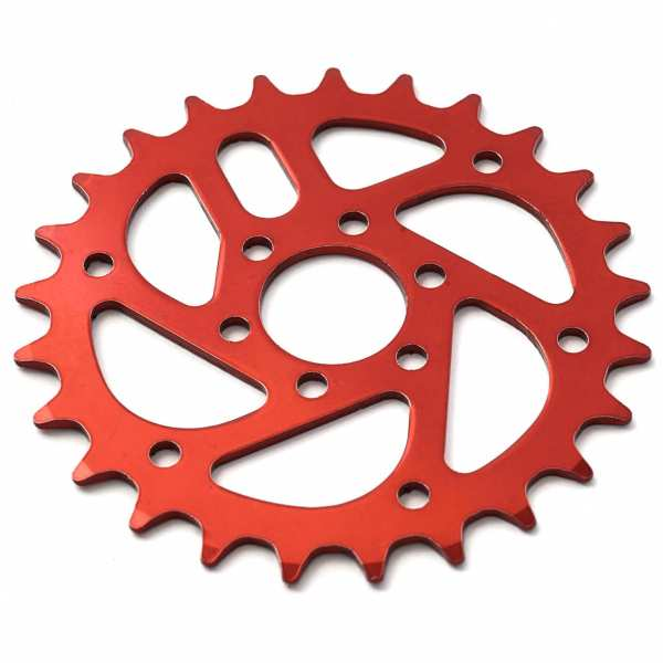 KHE MVP chain wheel 25t red - Y22