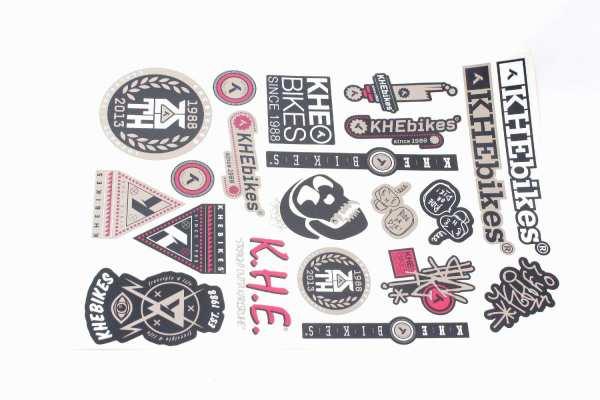 KHE Aufkleber (21 Sticker) - D5