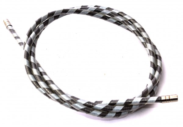 KHE Brakecable shell 1200mm striped - W114