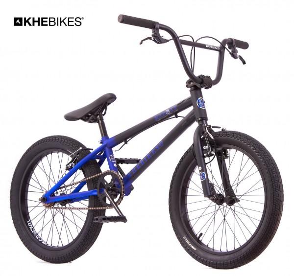 KHE MAD MAX 20 Zoll BMX Rad 11,2kg! schwarz-blau