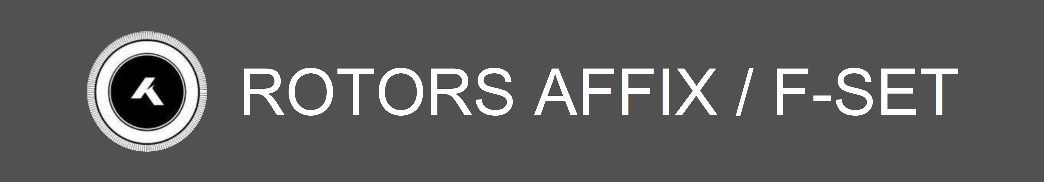 Rotors-AFFIX-F-Set