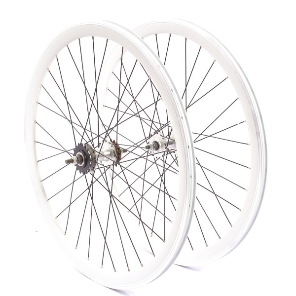"KHE BIKES wheel set 700c, 28"" - sealed bearing 40mm rim"