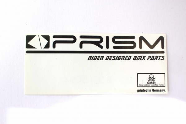 PRISM Sticker schwarz/weiß - F19-3
