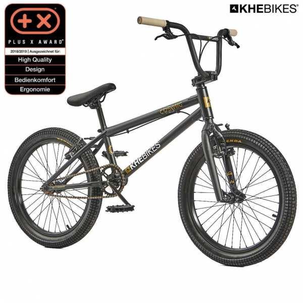 KHE COSMIC 20 Zoll BMX Rad 11,1kg! matt-schwarz