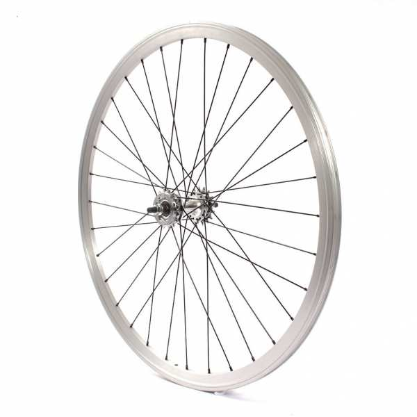 "KHE Fixie wheel rear 700c, 28"" double chamber silver - available from approx. 26.05."