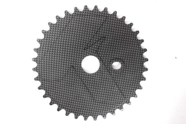 KHE Kettenblatt Carbonoptik 36Z - P3 39